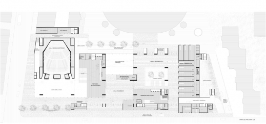 Outstanding Universita Luigi Bocconi Grafton Architects Floor Plan And Its Sections Pictures