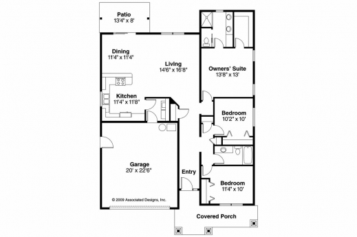 Remarkable 3 Bedroom Bungalow Floor Plans Chateautourduroc 3 Bed Room Bungalow Floor Plans Pic