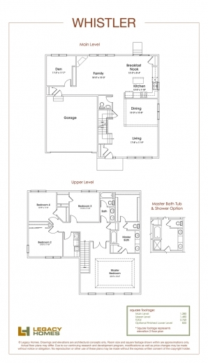 Remarkable Whistler Floor Plan Legacy Homes Omaha And Lincoln Redmond Floorplan Legacy Homes Photos