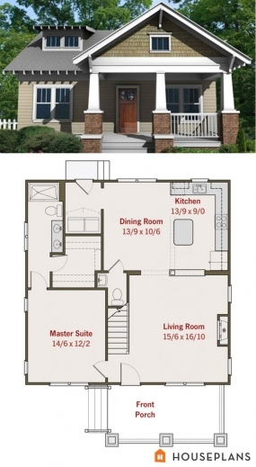 Bungalow Floor Plan With Elevation House Floor Plans