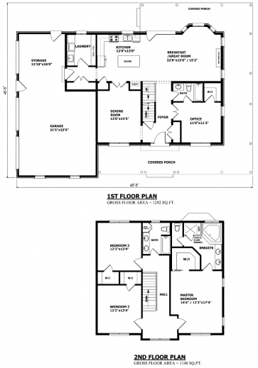 Stunning 1000 ideas about two storey house plans on for Two storey residential house floor plan