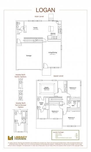 Stunning Legacy Homes Floor Plans Omaha Redmond Floorplan Legacy Homes Images