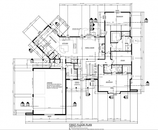 Stunning Residential House Plan Drawing Arts Residential Home Plan Picture
