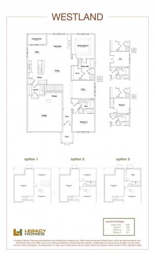 Stunning Westland Floor Plan Legacy Homes Omaha And Lincoln Redmond Floorplan Legacy Homes Images