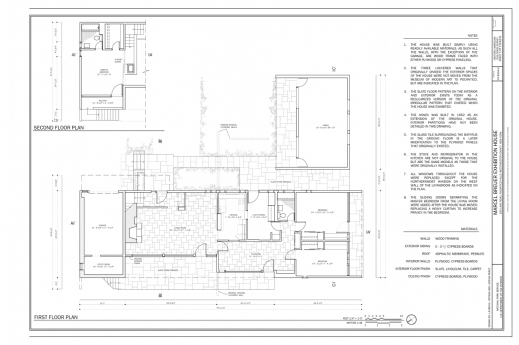 Stylish Filefirst And Second Floor Plan Kykuit Marcel Breuer G 5 Floor Plans Image