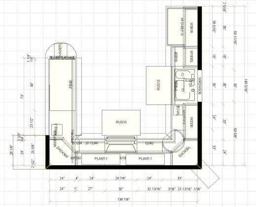 Stylish Kitchen Floor Plans Size Kitchen Design Kitchen Floor Plans Pictures
