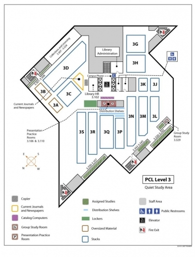 Stylish Locations Guide University Of Texas Libraries Floor Plan And Its Sections Pics