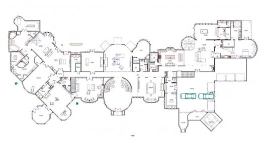 Stylish Mansion Floor Plans Mega Mansion Floor Plan Picture