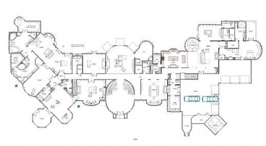 Stylish Mansion Floor Plans Mega Mansion Floor Plan Picture