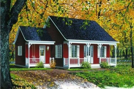 Smoll Farm Hous Image And Plans House Floor Plans