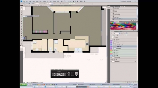 Stylish Photoshop Rendered Floor Plan Youtube Photoshop Floor Plan Youtube Floor Plan Pic