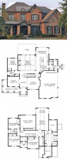 5 Bedroom House Plans 2 Story July 2020 - House Floor Plans