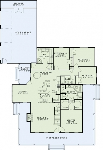 Wonderful 1000 Images About House Plans On Pinterest Ranch Style House 1000 Sq FT Floor Plans With Desi Touch Picture