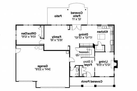 Wonderful Bungalow House Plans Cavanaugh 30 490 Associated Designs Bungalow Floor Plan With Elevation Image