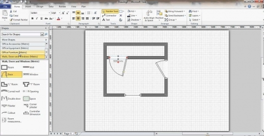 Wonderful Microsoft Visio Floor Plan Youtube Visio Floor Plan Slyfelinos Youtube Floor Plan Pics