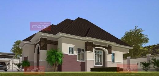Amazing Contemporary Nigerian Residential Architecture 3 Bedroom Bungalow Floor Plan In Nigeria Photos