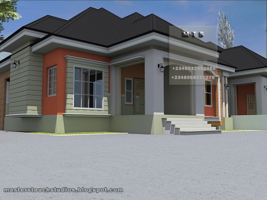 Amazing Residential Homes And Public Designs 3 Bedroom Twin Bungalow Pictures Of Nigerian 3 Bedroom Bungalow House Plan Pics