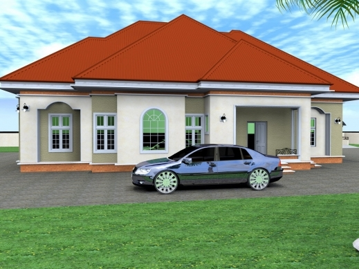 Awesome 3 bedroom house plans and designs in nigeria for Nigeria building plans and designs