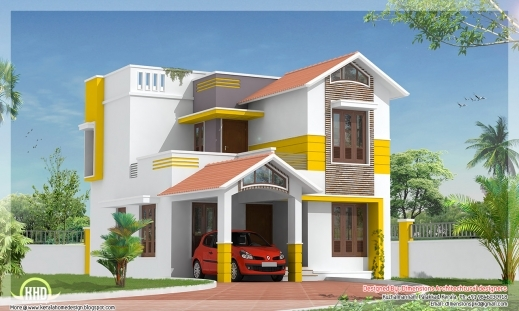 Awesome Beautiful 1500 Square Feet Villa Design Kerala Home Design And Indian House Plans For 1500 Square Feet Image