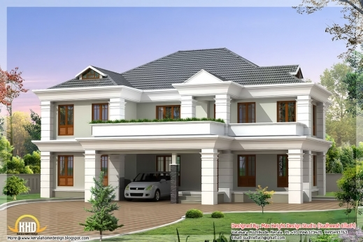 Awesome May 2012 Kerala Home Design And Floor Plans Lately Stylish Home Stylish Home Contemporary Plans Images