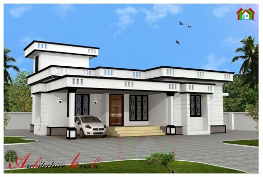 Two Bedroom House Plan With Elevation January 2020 - House ...