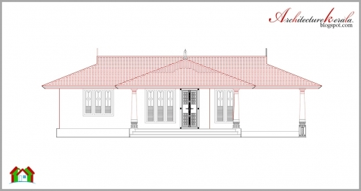 Best Architecture Kerala Beautiful Kerala Elevation And Its Floor Plan Architecture Home Plan/elevation/section Pics