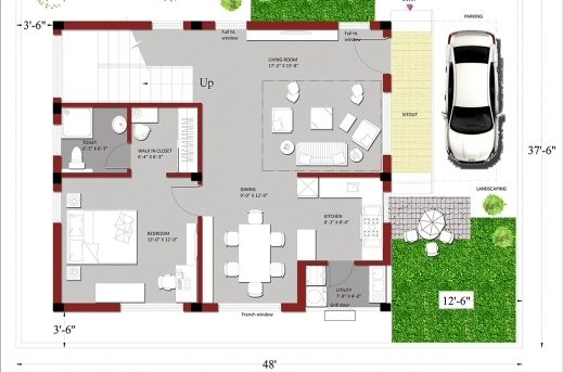 Best Indian House Plans For 1500 Square Feet Houzone Indian House Plans For 1500 Square Feet Pics