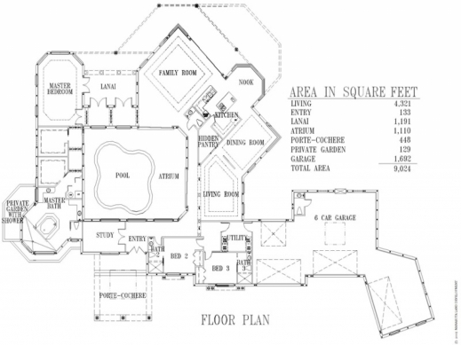 Awesome Cool Luxury Custom Home Floor Plans Luxury Home Design Top