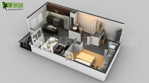 Fantastic 3d Floor Plan Design Interactive Designer Planning For 2d Home House Floor Plan In 2D Photo