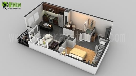Fantastic 3d Floor Plan Design Interactive Designer Planning For 2d Home House Floor Plan In 2D Photo
