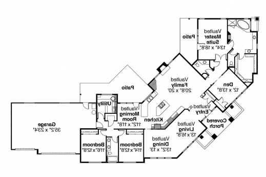 Amazing this duplex plan fits on a corner lot associated for Corner lot duplex floor plans
