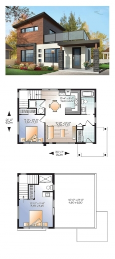 Fascinating 1000 Ideas About Modern House Plans On Pinterest Modern Houses Modern Cottage At Base Of Squak Mountain Washington Floor Plan Pictures