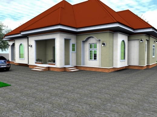 3 bedroom bungalow floor plan in nigeria house floor plans for 4 bedroom bungalow house designs
