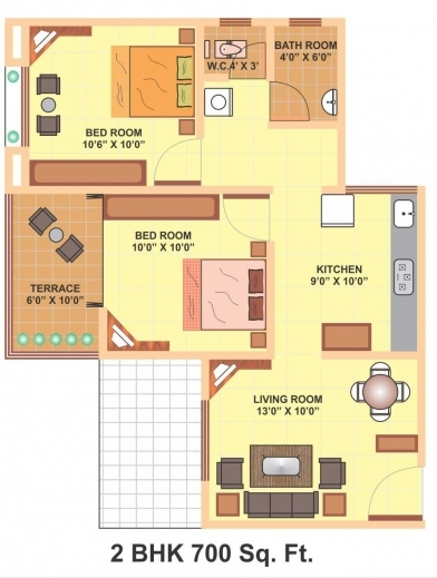 Fascinating 700 Sq Feet House Plans Uk Kerala House Plans 700square Feet Pic