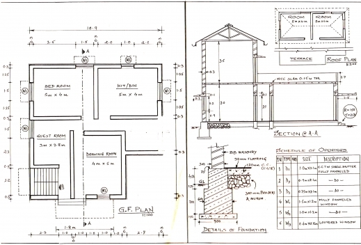 Fascinating Building Planning Nagesh Vidyasagar Complete House Plan Image