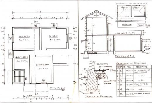 Fascinating Building Planning Nagesh Vidyasagar Complete House Plan Image