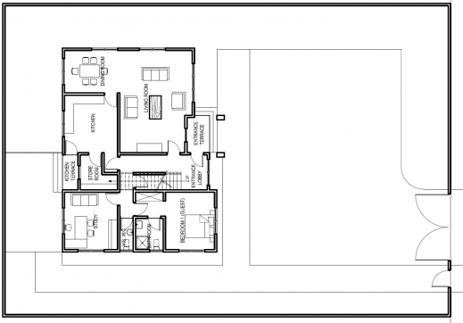 Wonderful Floor Plan Ultra Modern House Kerala Home Design