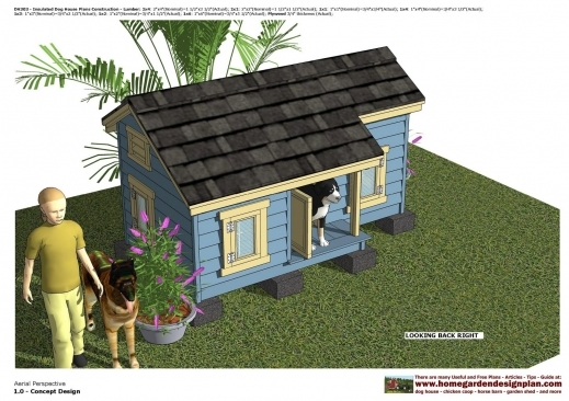 Fascinating Home Garden Plans Dh303 Insulated Dog House Plans Dog House Desi Home Plans Images
