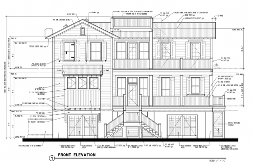 Fascinating Two Story House Plans With Elevations Arts Townhouse Elevation The House Plan And Elevation Image
