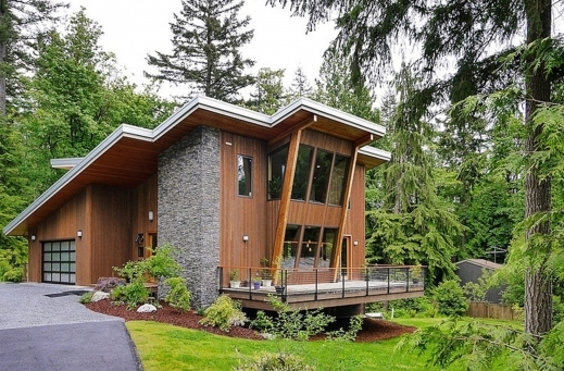 Gorgeous 1000 Images About Tiny Mountain Home On Pinterest Cabin Small Modern Cottage At Base Of Squak Mountain Washington Floor Plan Image