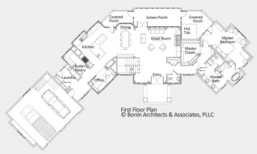 Custom Luxury Home Floor Plans - House Floor Plans