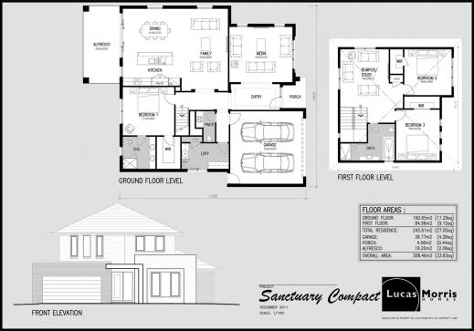 Gorgeous Sanctuary Floor Plans Slyfelinos Com Modern Double Storey House Double Storey Floor Plans Image