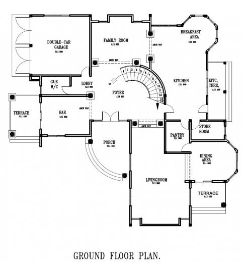 Gorgeous Simple Ground Floor House Plan House Plan Plan House Ground Floor Pic