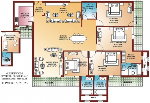 Incredible 4 Bedroom Building Plans Four Bedroom House Floor Plans Pic