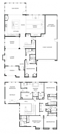 Inspiring 1000 Ideas About Double Storey House Plans On Pinterest Two Double Storey Floor Plans Photo