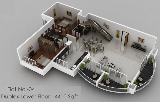Inspiring 4 Bedroom House Floor Plans 3d 3 Modern Four Plan In Cypress Texas 3d 4 Bedroom House Plans Image
