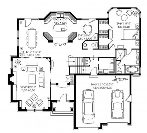 Fantastic contemporary house designs floor plans australia for Open plan house designs australia