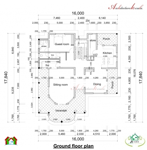 Inspiring Double Storied Kerala House Plan And Elevation Architecture Kerala Kerala House Plan And Elevation Dimension Images