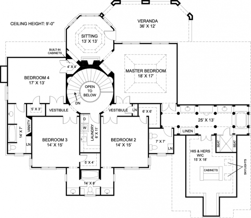 Inspiring upscale house plans arts custom luxury home for Custom home blueprints