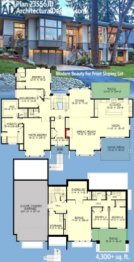 Marvelous 1000 Ideas About Modern House Plans On Pinterest Modern Houses Modern Cottage At Base Of Squak Mountain Washington Floor Plan Pictures